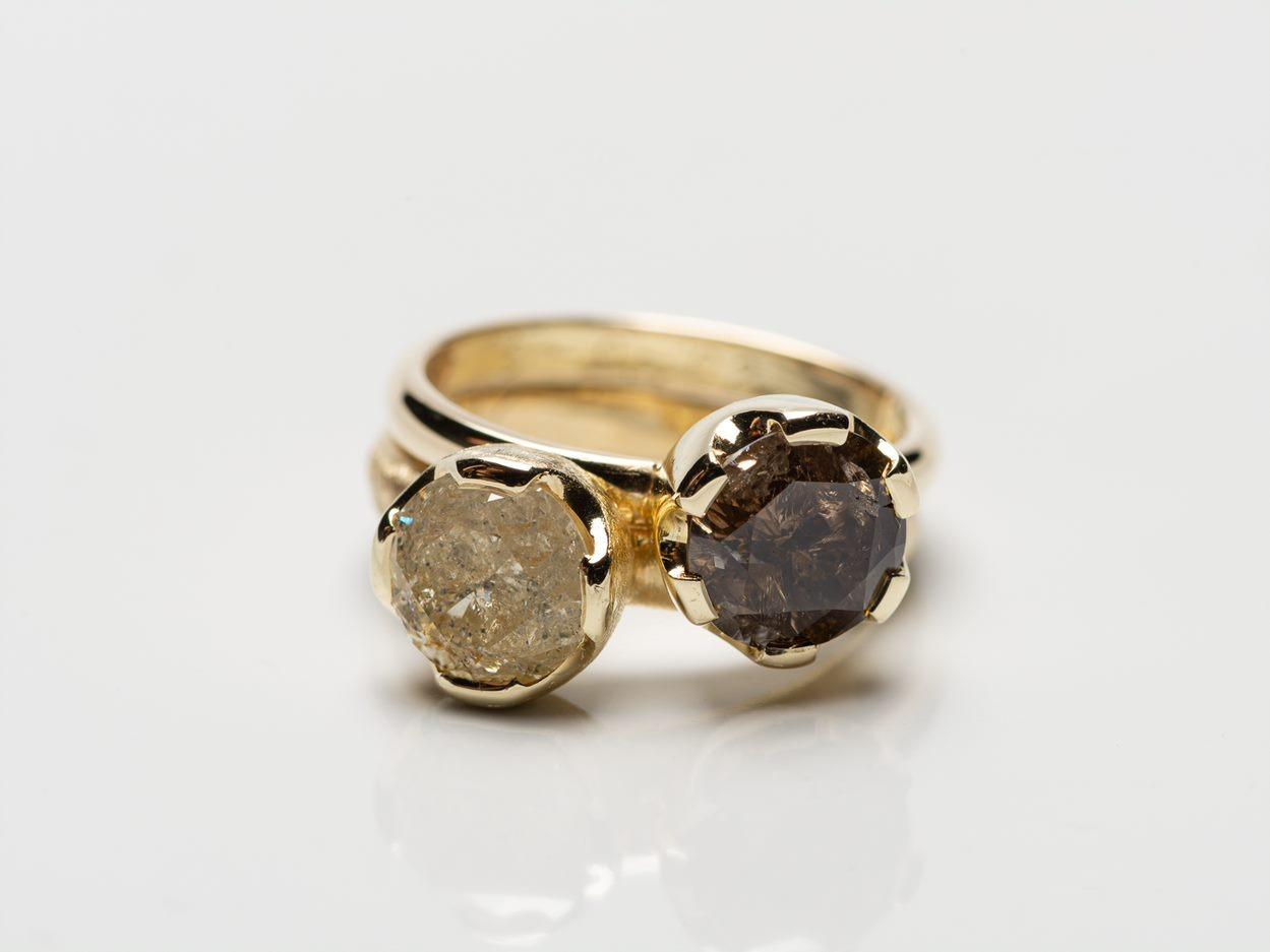 trouwringen met Ice Diamonds
